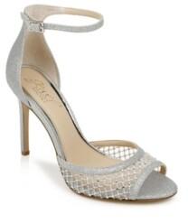 Badgley Mischka Nakisha Ankle-Strap Dress Sandals Women's Shoes