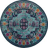 Safavieh Artisan Indoor/Outdoor Persian Round Rug