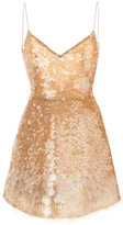 Monique Lhuillier sequinned party dress - women - Silk - 2