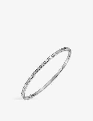 Chopard Ice Cube Pure 18-carat white-gold and diamond bangle