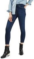 Topshop Petite Women's Jamie High Rise Crop Skinny Jeans