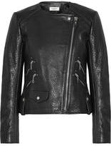 Etoile Isabel Marant Kankara Textured-leather Jacket - Black