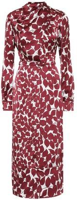 Gabriela Hearst Josefina silk-satin midi dress