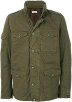 Sun 68 patch pocket jacket