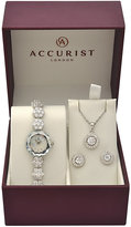 Accurist Ladies' Stone Set Watch Earrings and Pendant Set
