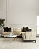 Old Hickory Tannery Valencia Button-Tufted Sectional