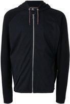 Paul Smith zip up hooded jacket - men - Cotton - XS
