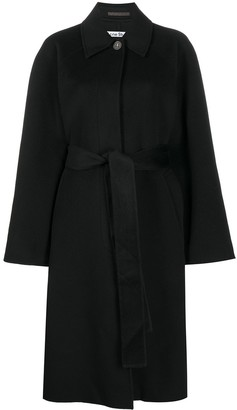 Acne Studios Belted Mid-Length Coat