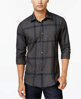 Alfani Brushed Plaid Shirt, Created for Macy's