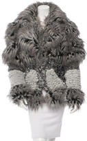 Chanel Embellished Fantasy Fur Jacket