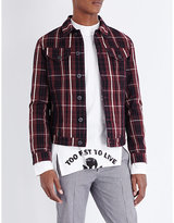 Anglomania Classic Tartan Denim Jacket