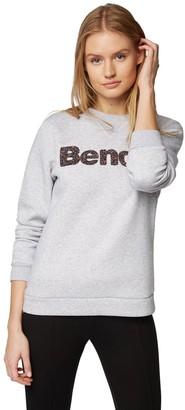 Bench Women's Logo Crew Neck Sweatshirt