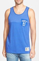 Mitchell & Ness 'Brooklyn Dodgers' Stripe Pocket Tank