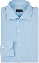 Finamore Men's Checked Cotton Shirt