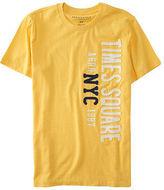 Aeropostale Mens Nyc 1987 Times Square Logo Graphic T Shirt