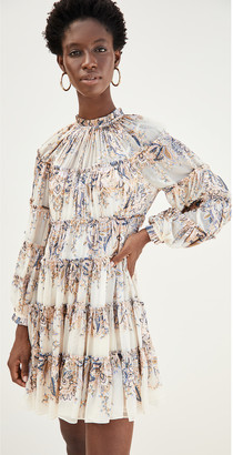Zimmermann Ladybeetle Tiered Mini Dress