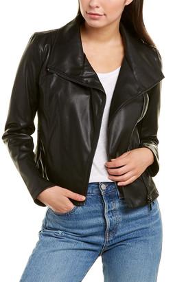 Bagatelle Collection Washed Envelope Collar Jacket