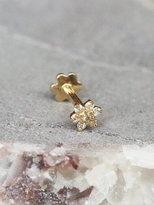 Free People Diamond Flower Helix Stud