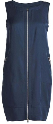 Conquista Zip Detail Sack Dress