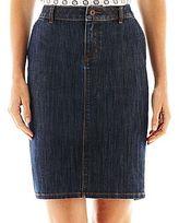 Liz Claiborne Denim Pencil Skirt
