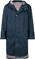 Thom Browne zipped parka coat