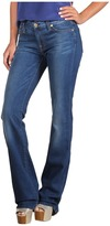 7 For All Mankind Kimmie Bootcut w/ Contoured Waistband in Light Blue Stretch (Light Blue Stretch) - Apparel