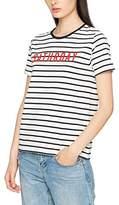 Warehouse Women's Stripe Saturday T-Shirt,8