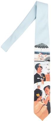Prada Printed Tie