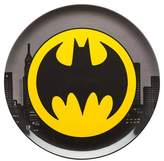 "Batman Melamine Dinner Plate 10.063 "" Black - Set of 1"