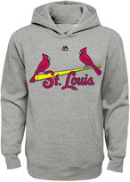 Majestic Boys' St. Louis Cardinals City Twill Hoodie