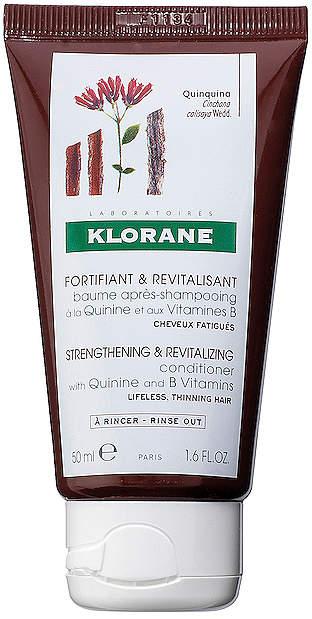 Klorane Travel Conditioner with Quinine and B Vitamins.