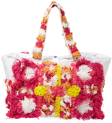 Antik Batik Sunny Large Embroidered Cotton Tote