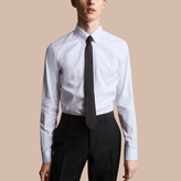 Burberry Slim Fit Button-down Collar Striped Cotton Poplin Shirt