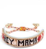 Rebecca Minkoff Women's Hey Mama Seed Bead Bracelet