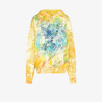 adidas X Pharrell Williams tie-dye cotton hoodie