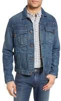 Billy Reid Clayton Distressed Selvedge Denim Jacket