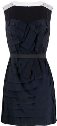 Lanvin Pre-Owned 2008 pleated mini dress