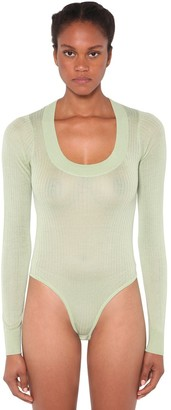 Dodo Bar Or Teddy Silk Knit Bodysuit