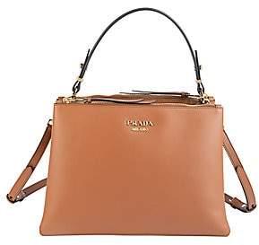 Prada Women's Small Matinee Leather Top Handle Bag
