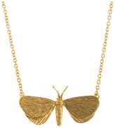 Alex Monroe Looper Moth Pendant Necklace