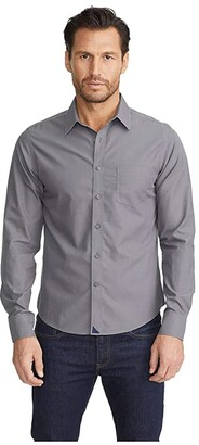 UNTUCKit Sangiovese - Wrinkle Free (Grey) Men's Clothing
