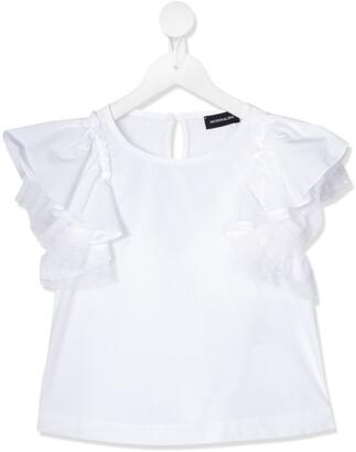 MonnaLisa frill sleeved T-shirt