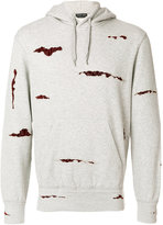 Alexander McQueen Shredded hoodie