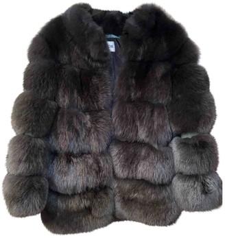 Ducie Khaki Fox Jacket for Women