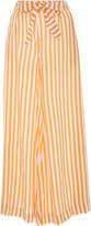 Cult Gaia Mara Striped Gaucho Pant