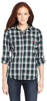 U.S. Polo Assn. Juniors Woven Plaid Shirt