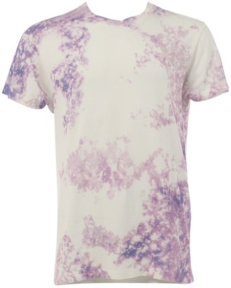 Saint Laurent Purple Cotton T-shirts