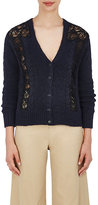 Sea Women's Lace-Inset Cable- & Rib-Knit Cardigan