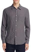 Billy Reid Crinkle Cotton Slim Fit Button Down Shirt