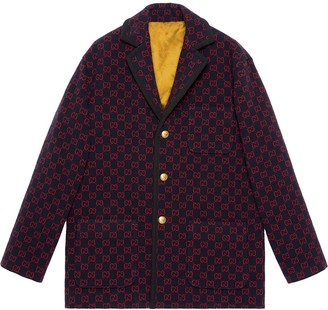 Gucci Monogram Print Jacket